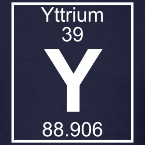 Element 039 - Y (yttrium) - Full T-Shirts - Men's T-Shirt