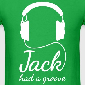 Jack had a groove headphones house techno T-Shirts - Men's T-Shirt
