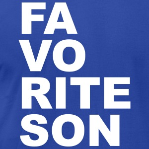 Favorite son T-Shirts - Men's T-Shirt by American Apparel