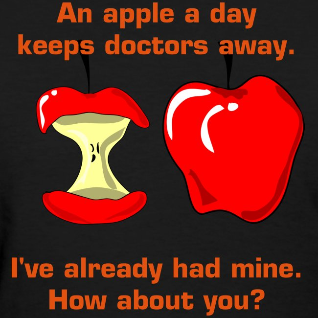 An apple a day keeps doctors away