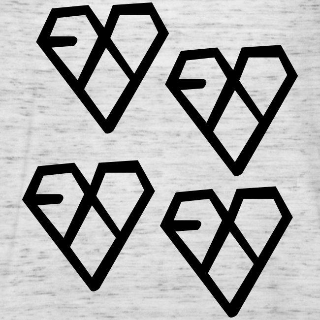 EXO - Wolf Logo (4x)