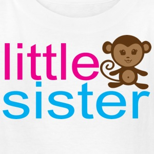 Little Sister - Monkey Kids' Shirts - Kids' T-Shirt