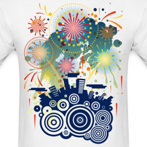 Fireworks - Men's T-Shirt