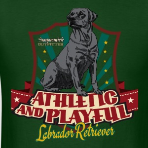 lab_athletic_playful_b T-Shirts - Men's T-Shirt