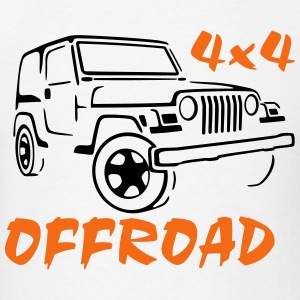Jeep 4x4 - Men's T-Shirt