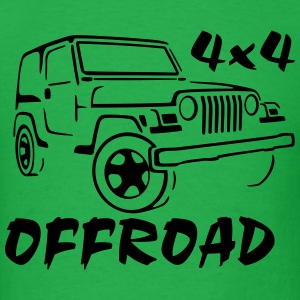 Jeep Wrangler 4x4 Rock Crawler Shirt - Men's T-Shirt