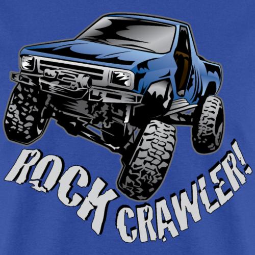 Blue Rock Crawler Truck