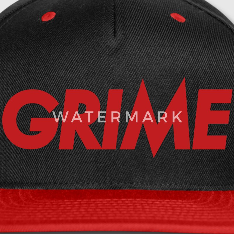 Grime hat - Snap-back Baseball Cap