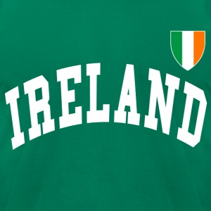 Classic IRISH Jersey Style Design - Men's T-Shirt by American Apparel