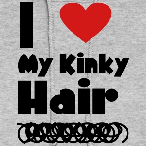 I Love My Kinky Hair Hoodies - Women's Hoodie
