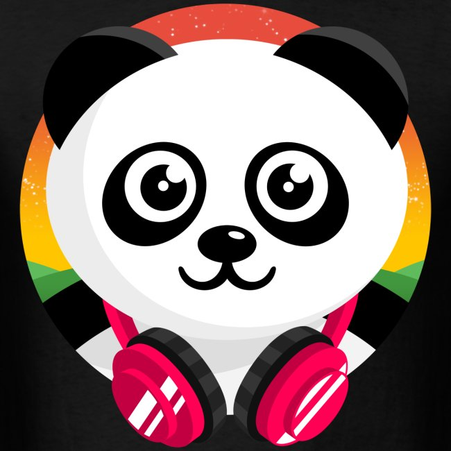 Panda Mix Show T-Shirt (Sunrise)