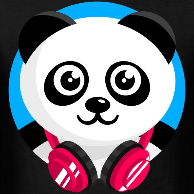 Panda Mix Show T-Shirt (Blue Sky)