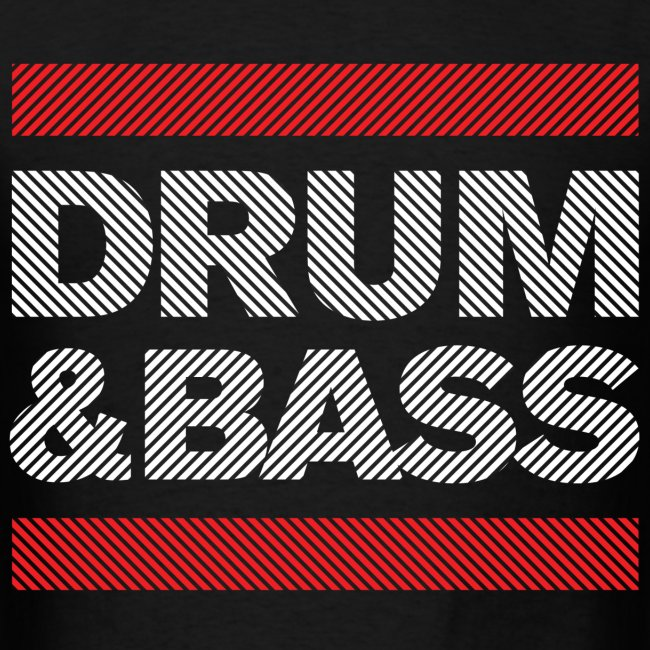 Run Drum and Bass Shirt (Striped)