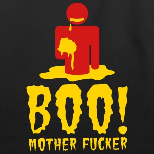 NSFW BOO! mother fucker with zombie man eating bra Bags & backpacks - Eco-Friendly Cotton Tote