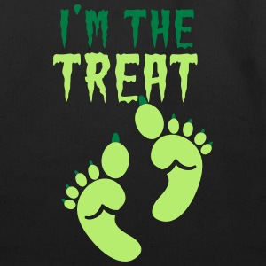 I'm the TREAT Halloween Double design ogre feet  Bags & backpacks - Eco-Friendly Cotton Tote