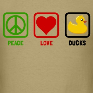 peace love ducks - Men's T-Shirt