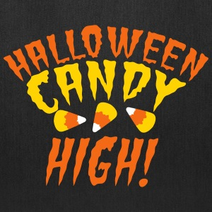 HALLOWEEN candy high! with candy corn cute! Bags & backpacks - Tote Bag