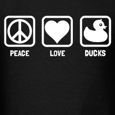 peace love ducks