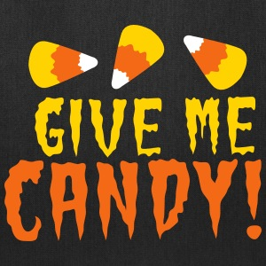 GIVE ME CANDY! HALLOWEEN Candy corn design Bags & backpacks - Tote Bag