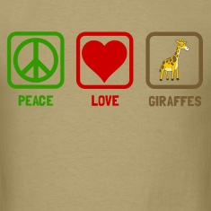 peace love giraffes