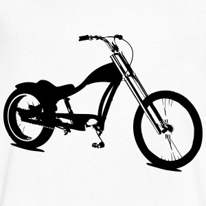 Lowrider bike T-Shirts - Men's V-Neck T-Shirt by Canvas