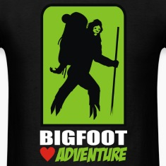 bigfoot love adventure T-Shirts