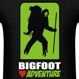 bigfoot love adventure T-Shirts - Men's T-Shirt