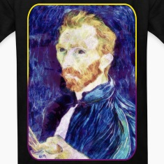 Vincent van Gogh - Quote - Painting - Art - Artist Kids' Shirts