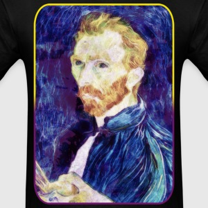 Vincent van Gogh - Quote - Painting - Art - Artist T-Shirts - Men's T-Shirt