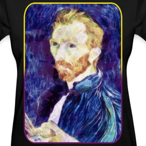 Vincent van Gogh - Quote - Painting - Art - Artist Women's T-Shirts - Women's T-Shirt
