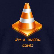 Design ~ Men's traffic cone T-Shirt