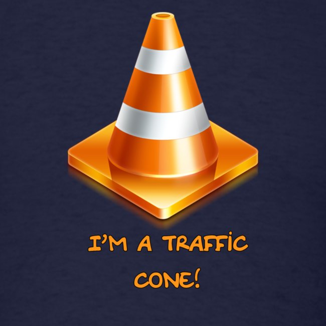 Men's traffic cone T-Shirt