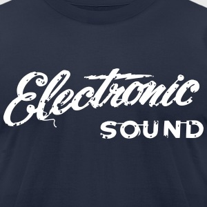 electronic - Men's T-Shirt by American Apparel