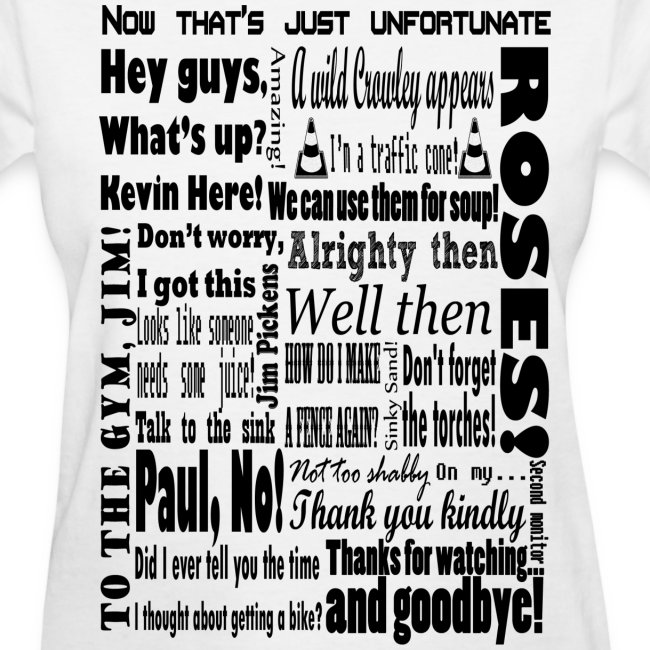 Women's Kevin Phrases T-Shirt