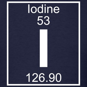 Element 53 - I (iodine) - Full T-Shirts - Men's T-Shirt