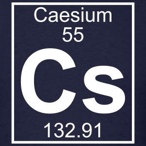 Element 55 - Cs (caesium) - Full T-Shirts - Men's T-Shirt