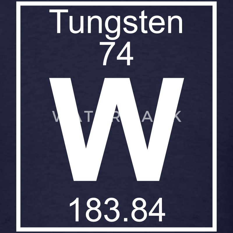 Element 74 - W (tungsten) - Full T-Shirts - Men's T-Shirt
