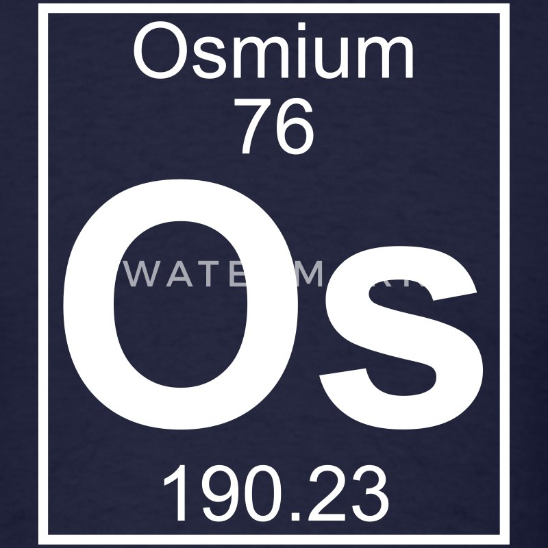 Element 76 - Os (osmium) - Full T-Shirts - Men's T-Shirt