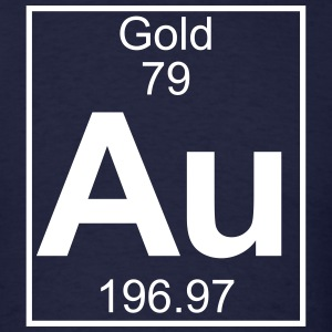 Element 79 - Au (gold) - Full T-Shirts - Men's T-Shirt