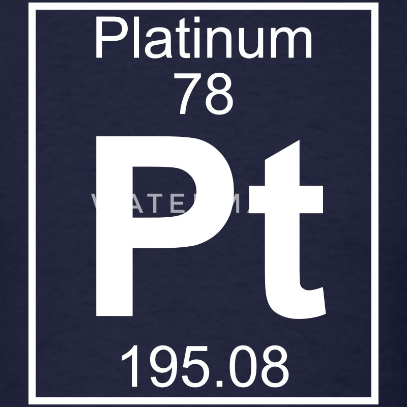 Element 78 - Pt (platinum) - Full T-Shirts - Men's T-Shirt