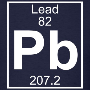 periodic table t shirts spreadshirt - Periodic Table Symbol Pb