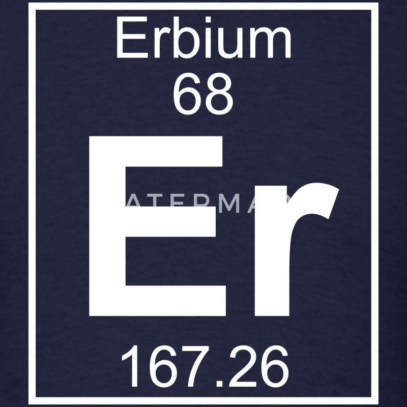 Element 68 - Er (erbium) - Full T-Shirts - Men's T-Shirt