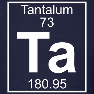 Element 73 - Ta (tantalum) - Full T-Shirts - Men's T-Shirt