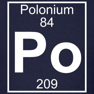 Element 84 - Po (polonium) - Full T-Shirts - Men's T-Shirt