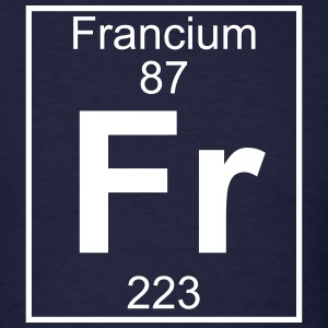 Element 87 - Fr (francium) - Full T-Shirts - Men's T-Shirt
