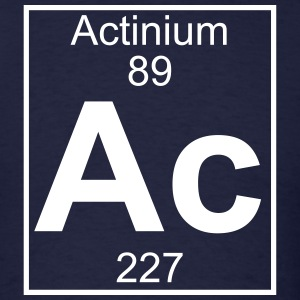 Element 89 - ac (actinium) - Full T-Shirts - Men's T-Shirt