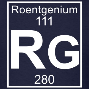 Element 111 - rg (roentgenium) - Full T-Shirts - Men's T-Shirt