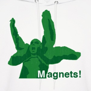 magnets! Hoodies - Men's Hoodie