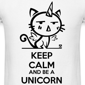 Cat unicorn - keep calm T-Shirts - Men's T-Shirt