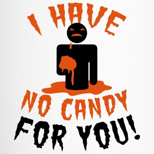 HALLOWEEN I have no candy for you zombie Bottles & Mugs - Travel Mug